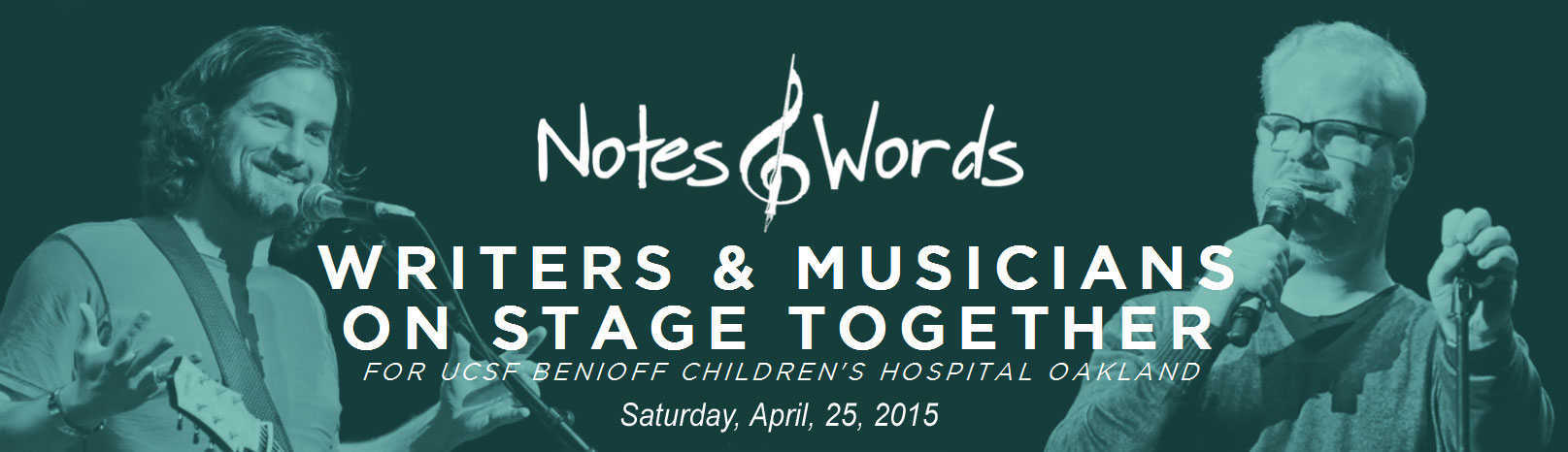 Notes & Words Benefit for UCSF Benioff Children's Hospital Oakland