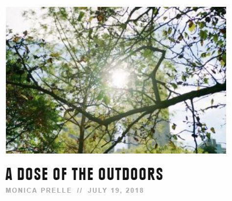 REI Blog: A Dose of the Outdoors