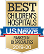 UCSF Benioff Children's Hospitals rank among the nation's top-tier pediatric medical centers, according to U.S. News & World Report