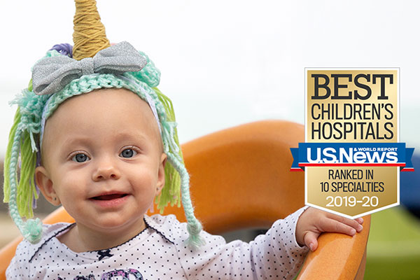 UCSF Benioff Children's Hospitals Excel in All 10 Specialties in